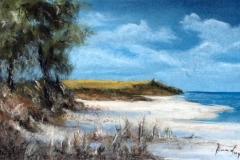 Darßer Abbruchkante I - Pastell 2004 - 50x65 cm